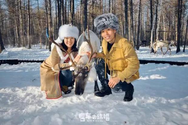 Cặp đôi trẻ cùng xin nghỉ việc để có thời gian đi chụp ảnh cưới vòng quanh Trung Quốc - Ảnh 10.
