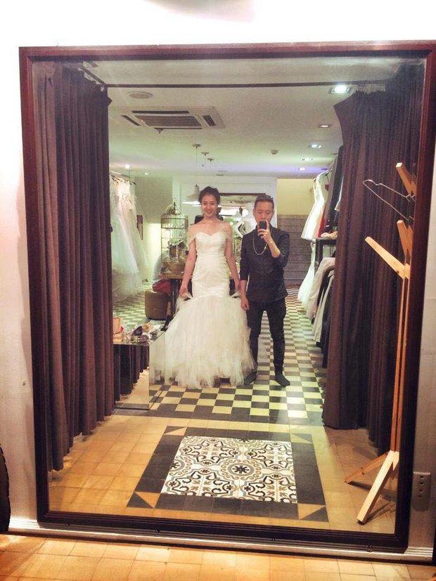 Đăng ảnh thử váy cưới, cặp đôi Trâm Anh và Justa Tee sắp kết hôn? - Ảnh 2.