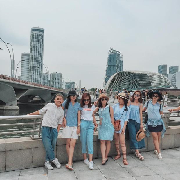 Xu hướng mới của bạn trẻ Việt Nam: Đi du lịch nhóm, mặc đồ cùng tông rồi diễn như tạp chí! - Ảnh 6.