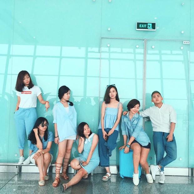 Xu hướng mới của bạn trẻ Việt Nam: Đi du lịch nhóm, mặc đồ cùng tông rồi diễn như tạp chí! - Ảnh 5.