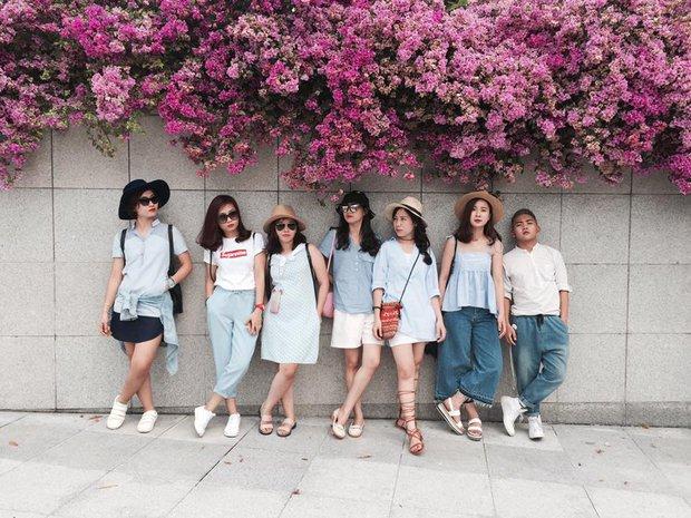 Xu hướng mới của bạn trẻ Việt Nam: Đi du lịch nhóm, mặc đồ cùng tông rồi diễn như tạp chí! - Ảnh 8.