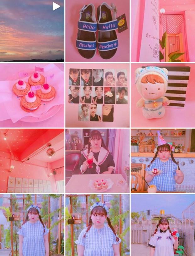 Không thể cưỡng lại vẻ đáng yêu của nàng béo mê màu hồng đến từ Hàn Quốc này - Ảnh 2.