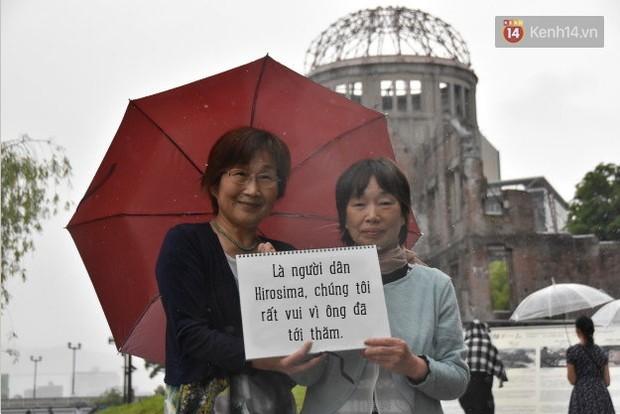 Đây là những điều người dân Hiroshima muốn nói với Tổng thống Obama - Ảnh 14.
