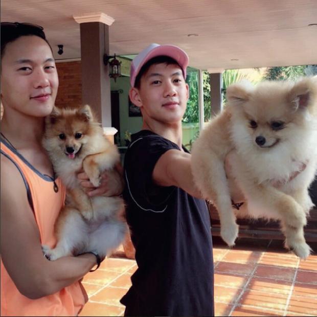 2 anh em sinh đôi lai Việt - Thái đẹp trai, hát hay đang cực hot trên MXH - Ảnh 15.