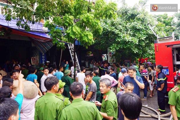 Hà Nội: Cháy nhà 5 tầng ở khu giãn dân Mỗ Lao, 3 người bị thương - Ảnh 3.