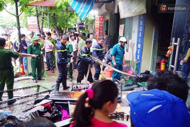 Hà Nội: Cháy nhà 5 tầng ở khu giãn dân Mỗ Lao, 3 người bị thương - Ảnh 2.