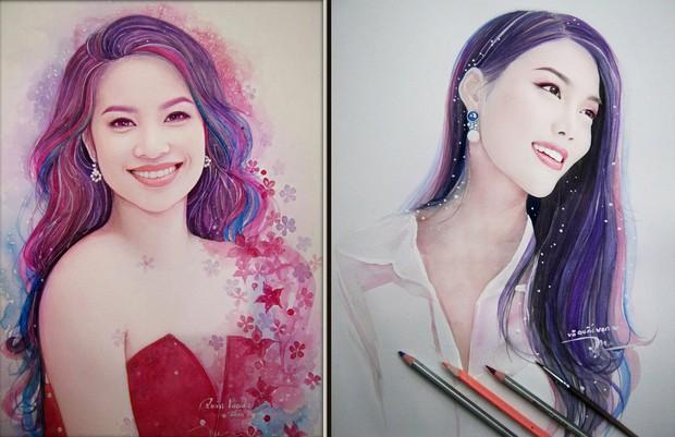 9X chuyên vẽ chân dung sao Việt được vinh danh trên tạp chí nghệ thuật nổi tiếng hàng đầu của Mỹ - Ảnh 9.