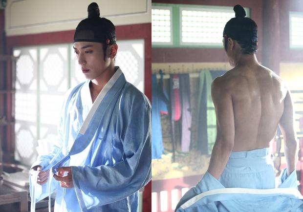 Những nghệ sĩ nam Hàn không thể ngừng phanh áo, khoe múi bụng săn chắc - Ảnh 24.