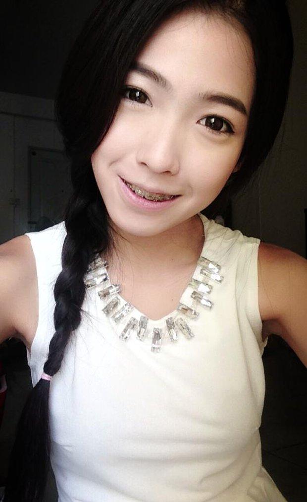 Hot girl mới nổi Thái Lan không ngần ngại tiết lộ ảnh xấu xí ngày xưa - Ảnh 7.