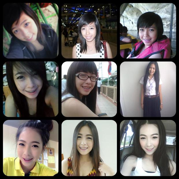 Hot girl mới nổi Thái Lan không ngần ngại tiết lộ ảnh xấu xí ngày xưa - Ảnh 9.