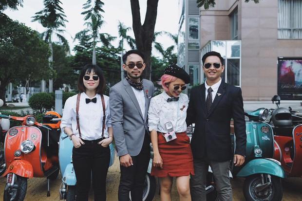 Nguyên dàn mặc chất, cưỡi vespa cổ trên phố Sài Gòn: Quá nhiều cái đẹp trong một tấm hình! - Ảnh 25.