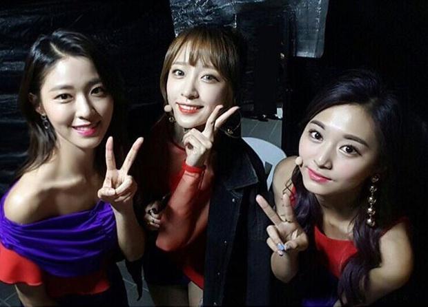 Ba mỹ nhân thế hệ mới Seolhyun, Hani và Tzuyu khi đứng cạnh nhau, ai đẹp hơn ai? - Ảnh 2.
