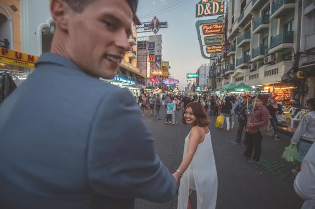 Nhờ cực kì chênh lệch chiều cao nên bộ ảnh của cặp đôi này trở nên siêu hot! - Ảnh 13.