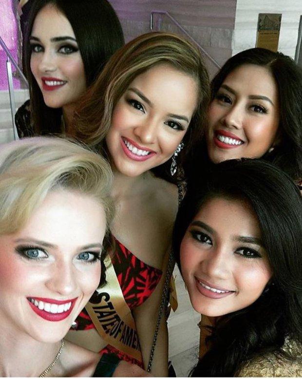 Nguyễn Thị Loan tự tin nói tiếng Anh trước 80 thí sinh Miss Grand International - Ảnh 4.