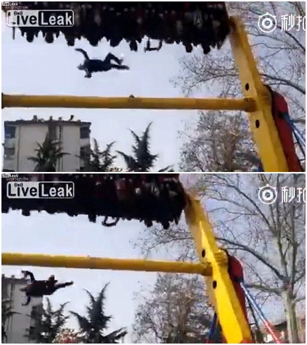 Shock: Du khách chết vì bị văng khỏi vòng quay 360 độ trong công viên trò chơi - Ảnh 3.