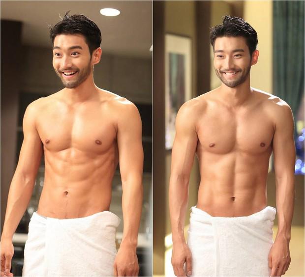 Những nghệ sĩ nam Hàn không thể ngừng phanh áo, khoe múi bụng săn chắc - Ảnh 14.