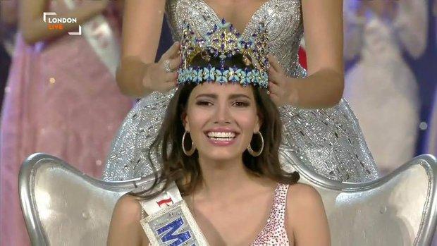 Nhan sắc người đẹp 19 tuổi vừa đăng quang Hoa hậu Thế giới 2016 - Ảnh 1.
