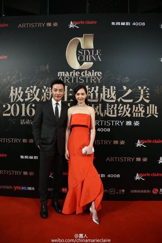 Đường Yên lần đầu xuất hiện bên bạn trai, Dương Mịch đẹp lộng lẫy vượt xa Triệu Vy trên thảm đỏ - Ảnh 3.