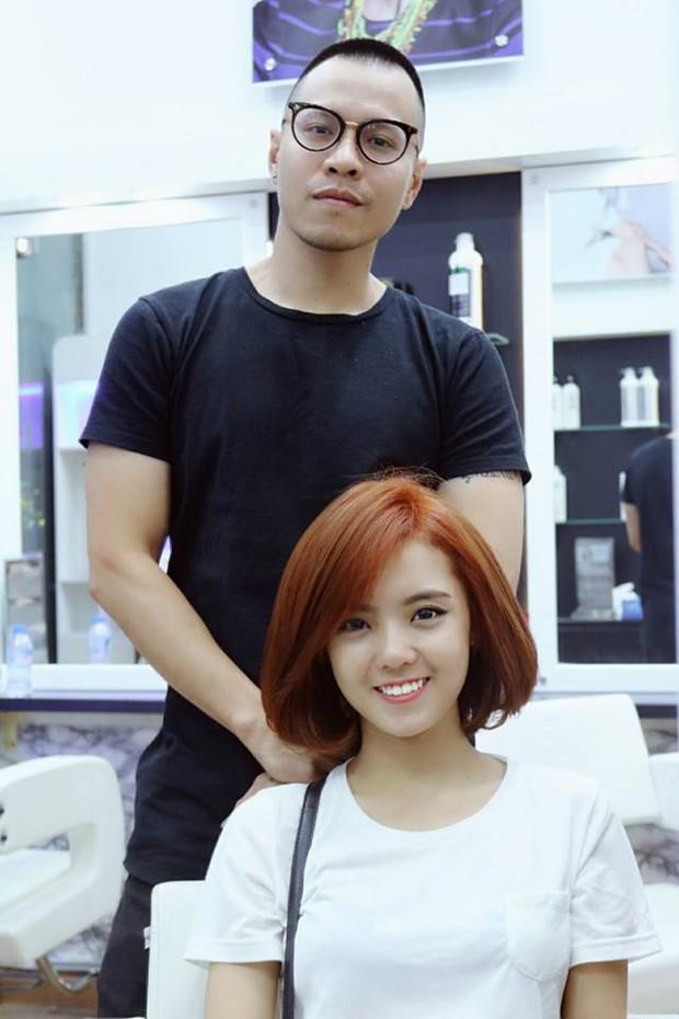Cãi vã chán chê, Lâm Á Hân lại gây bất ngờ khi vui vẻ đi cắt tóc với chồng cũ - Ảnh 4.