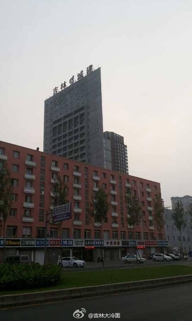 Những tòa nhà không thể mỏng hơn chỉ có ở Trung Quốc - Ảnh 8.