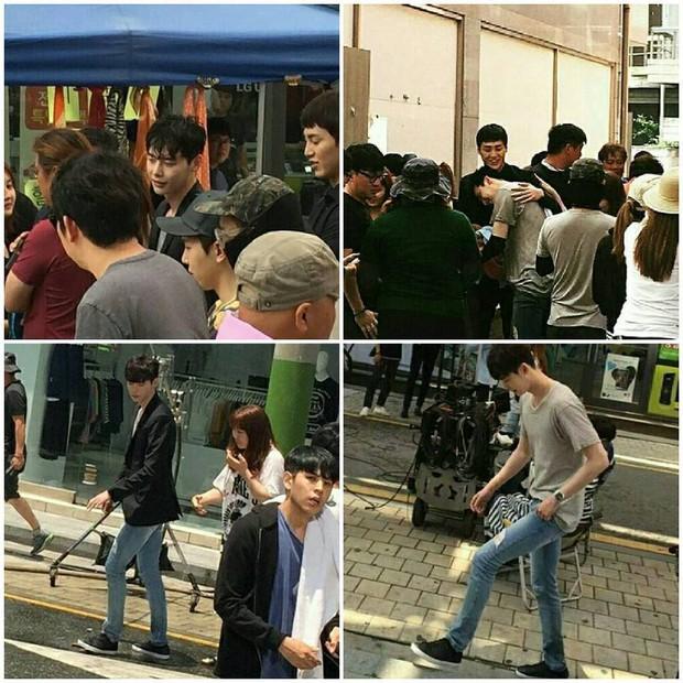 Lee Jong Suk siêu giàu, siêu ngầu - Han Hyo Joo hóa bác sĩ xinh tươi trong phim mới - Ảnh 17.