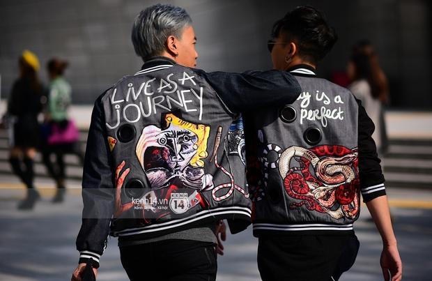 Hoàng Ku, Châu Bùi, Min xuất hiện cực nét cùng fashionista Hàn tại Tuần lễ thời trang ngày 3 - Ảnh 16.