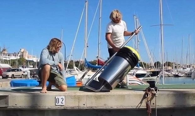 Phát minh kỳ diệu: thùng hút rác tự động trên đại dương - Ảnh 4.