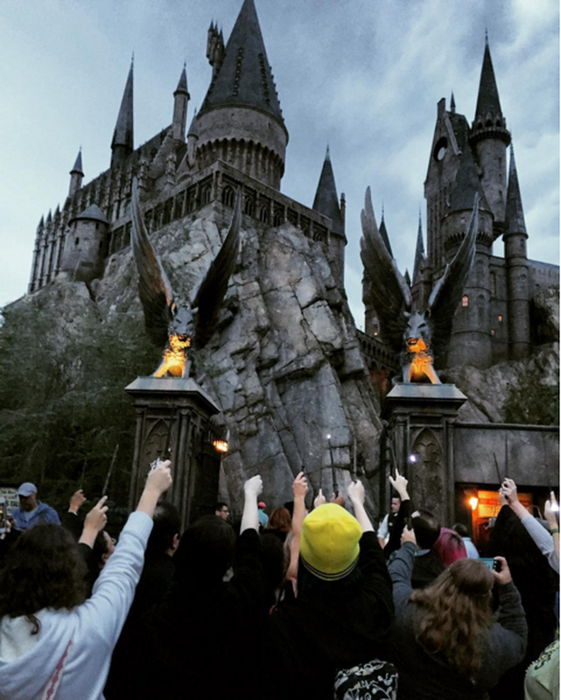 Fan Harry Potter đồng loạt giơ cao đũa phép tưởng niệm sự ra đi của Giáo sư Snape - Ảnh 8.