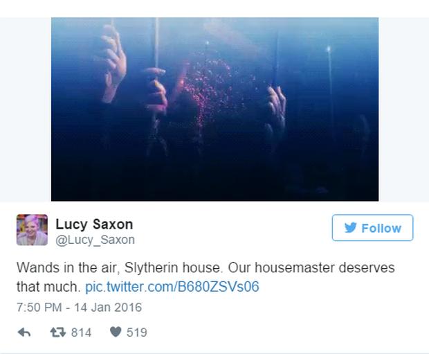 Fan Harry Potter đồng loạt giơ cao đũa phép tưởng niệm sự ra đi của Giáo sư Snape - Ảnh 3.