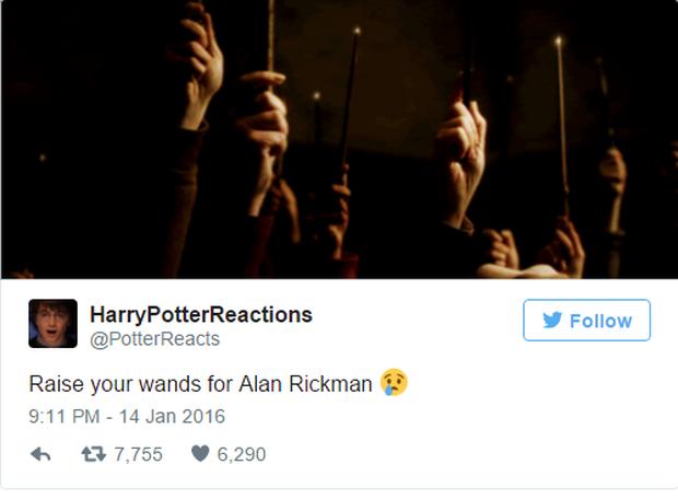 Fan Harry Potter đồng loạt giơ cao đũa phép tưởng niệm sự ra đi của Giáo sư Snape - Ảnh 5.