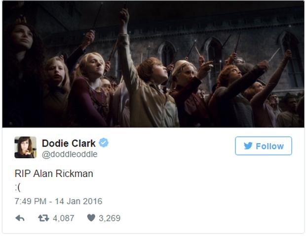Fan Harry Potter đồng loạt giơ cao đũa phép tưởng niệm sự ra đi của Giáo sư Snape - Ảnh 6.