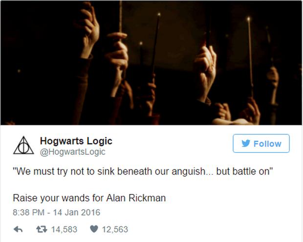Fan Harry Potter đồng loạt giơ cao đũa phép tưởng niệm sự ra đi của Giáo sư Snape - Ảnh 7.