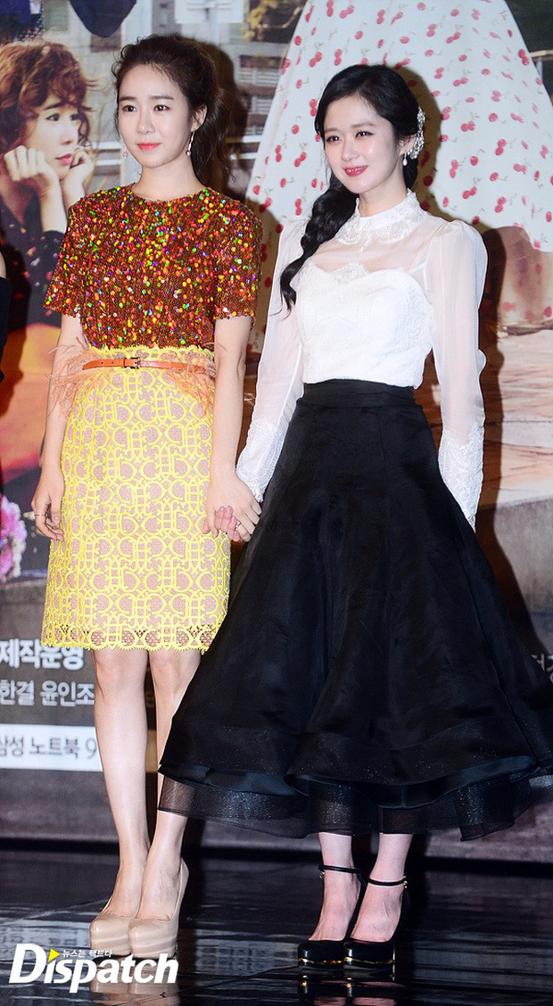 Jang Na Ra đẹp như nữ thần, nắm chặt tay người yêu Soo Young (SNSD) trong sự kiện - Ảnh 12.