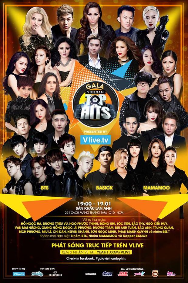 Gala Vietnam Top Hits chính thức khép lại với loạt 3 sân khấu khủng của BTS - Ảnh 1.