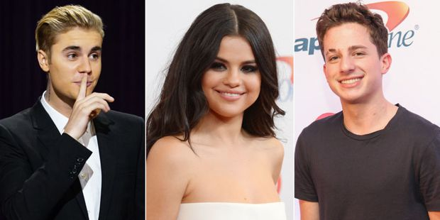 Charlie Puth bất ngờ chửi Justin khi đang hát bản song ca với Selena - Ảnh 1.