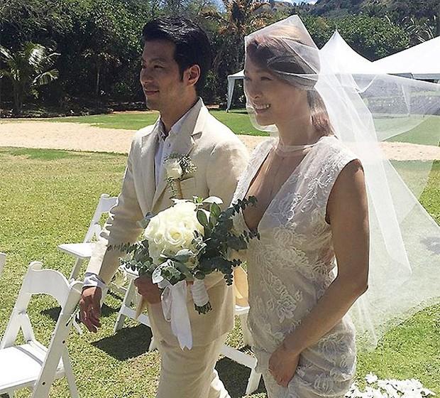 Cựu trưởng nhóm After School rạng rỡ bên chồng thương gia giàu có trong đám cưới tại Hawaii - Ảnh 4.