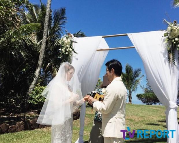 Cựu trưởng nhóm After School rạng rỡ bên chồng thương gia giàu có trong đám cưới tại Hawaii - Ảnh 5.