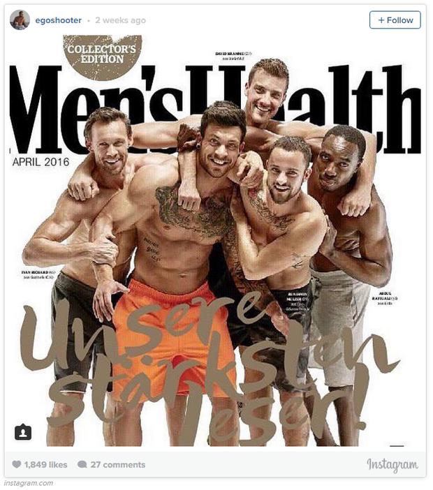 Gặp chàng trai chuyển giới đầu tiên lên bìa tạp chí đàn ông châu Âu - Ảnh 3.