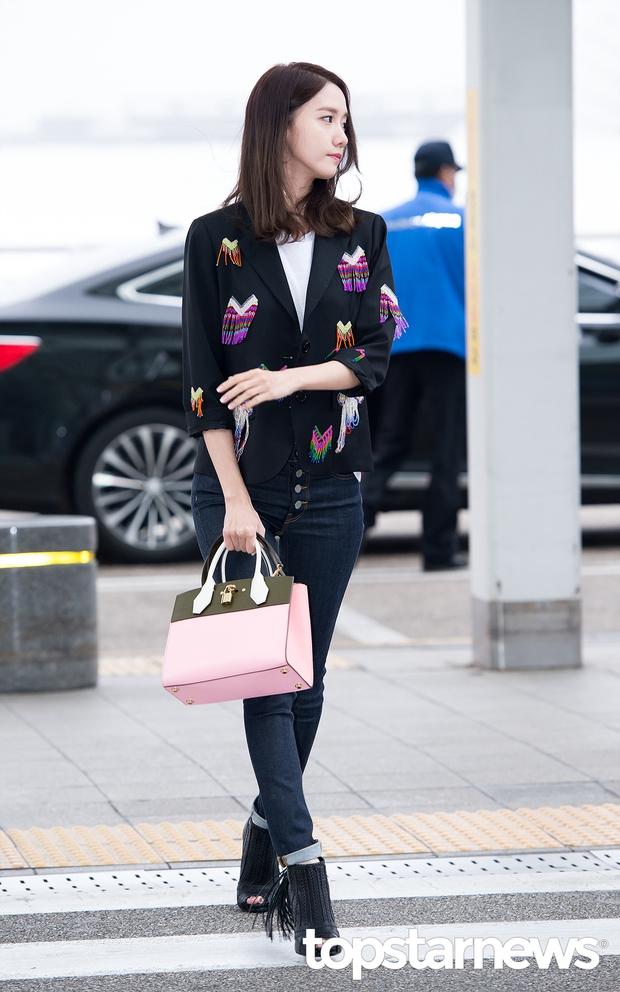 Soán ngôi Song Joong Ki tại Đại Lục, Yoona (SNSD) trở thành tâm điểm của báo giới khi về nước - Ảnh 5.