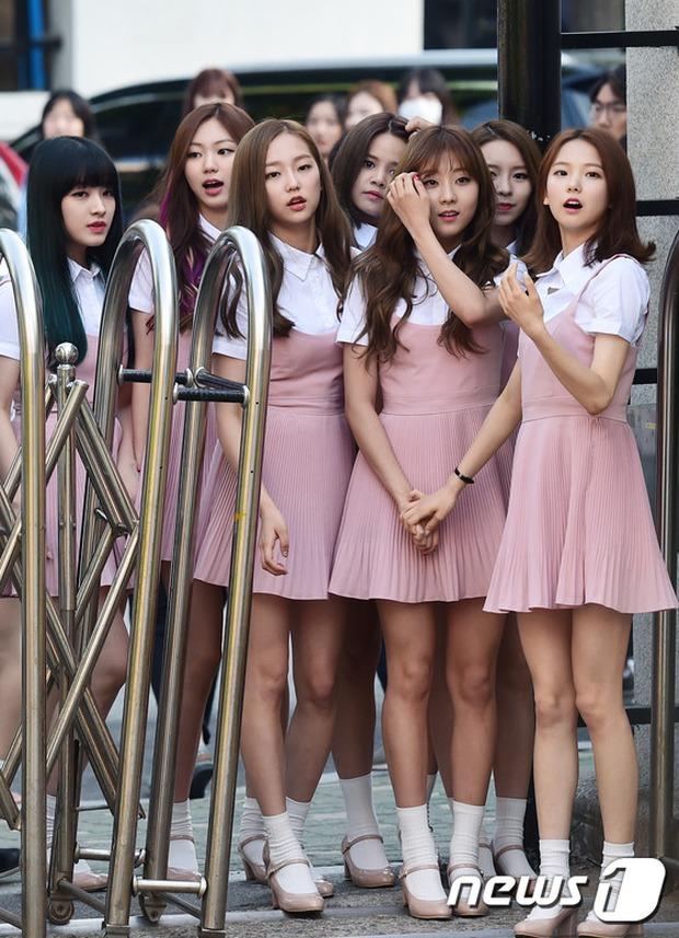 Tiffany (SNSD) cùng Hani (EXID) khoe chân nuột nà trắng ngần trước thềm Music Bank - Ảnh 11.