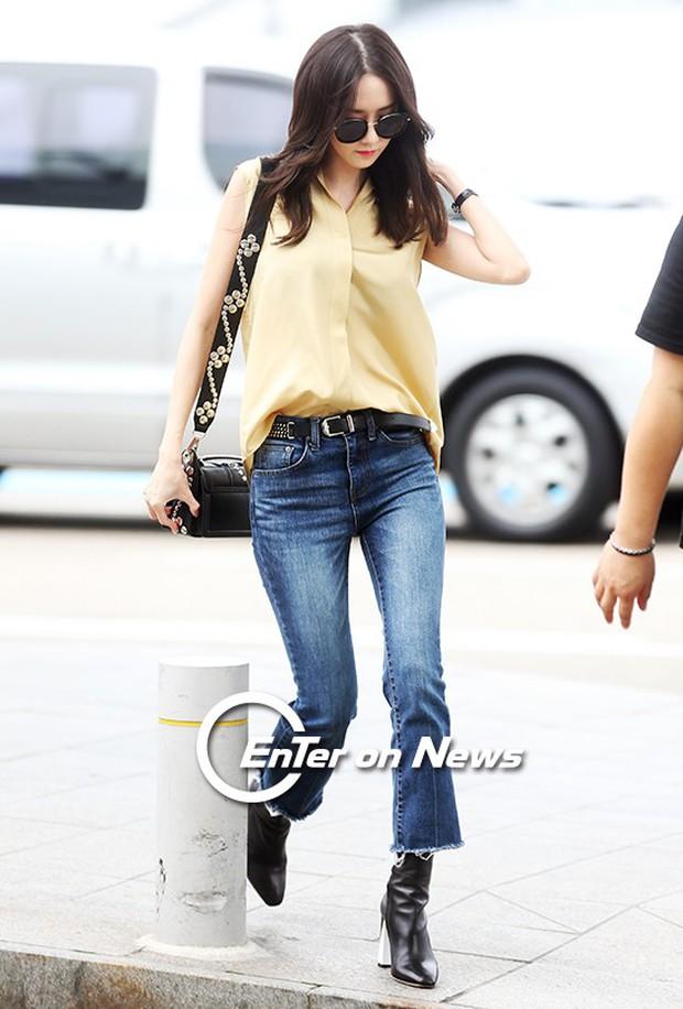 Yoona (SNSD) thả dáng sang chảnh, IU bị tố làm mũi khi xuất hiện tại sân bay - Ảnh 5.