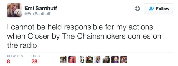 Đây là phản ứng mất kiểm soát của giới trẻ mỗi khi Closer (The Chainsmokers) nổi lên - Ảnh 3.