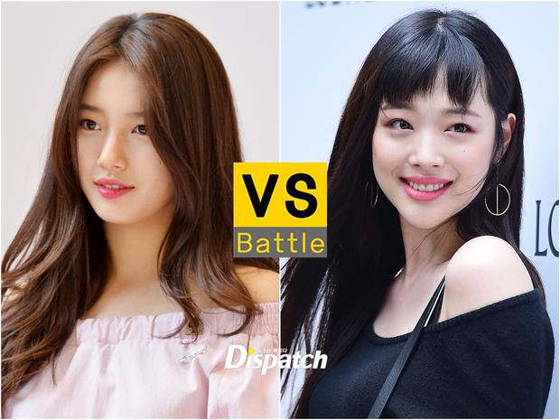 Cuộc chiến nhan sắc giữa hai idol: Sulli bị chê rẻ tiền, không còn cùng đẳng cấp với Suzy - Ảnh 1.