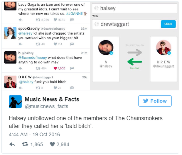 DJ đẹp trai của The Chainsmokers lộ mặt hèn trong vụ lùm xùm với Lady Gaga? - Ảnh 17.