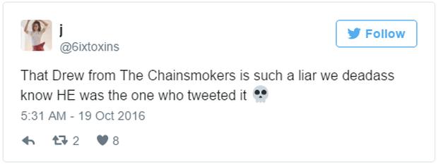 DJ đẹp trai của The Chainsmokers lộ mặt hèn trong vụ lùm xùm với Lady Gaga? - Ảnh 18.