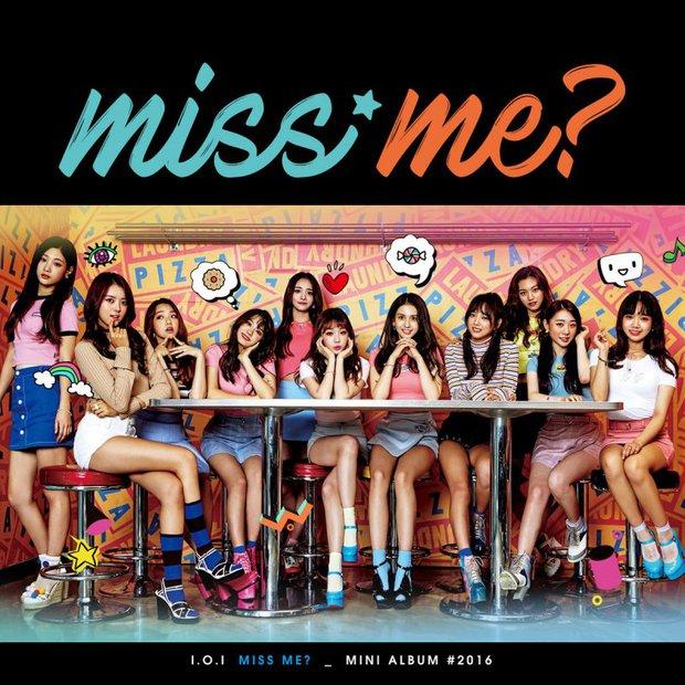 Girlgroup Produce 101 leo lên thống trị BXH Kpop tháng 10 trước khi tan rã - Ảnh 1.
