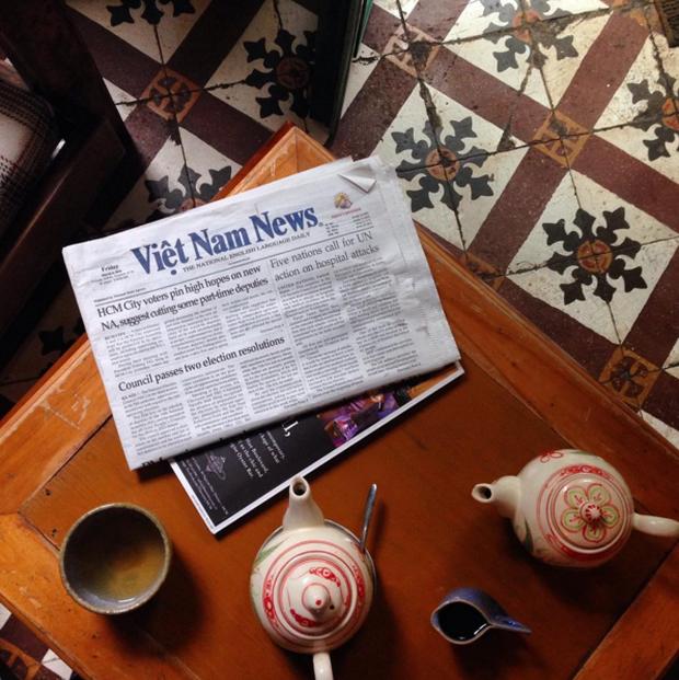 Hà Nội: Muốn chụp ảnh nền gạch hoa vintage? Cứ đến những quán cafe này - Ảnh 18.