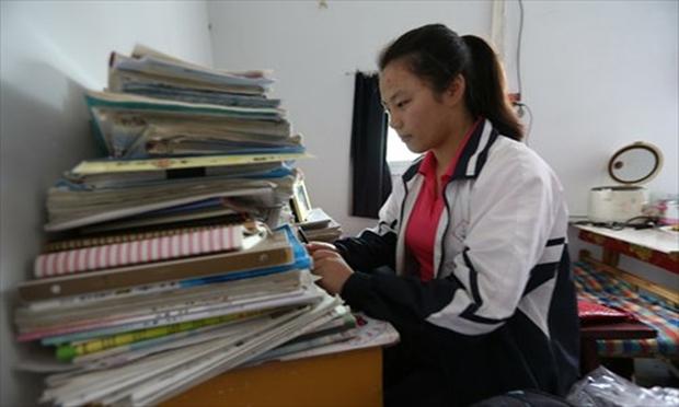 Hàng chục ngàn phụ huynh Trung Quốc tiễn con lên đường đi thi Đại học - Ảnh 16.