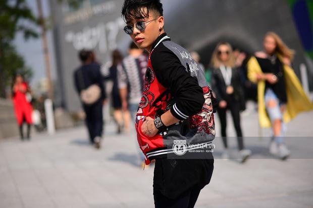 Hoàng Ku, Châu Bùi, Min xuất hiện cực nét cùng fashionista Hàn tại Tuần lễ thời trang ngày 3 - Ảnh 17.