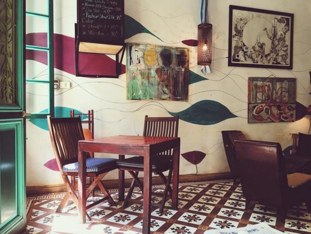 Hà Nội: Muốn chụp ảnh nền gạch hoa vintage? Cứ đến những quán cafe này - Ảnh 19.